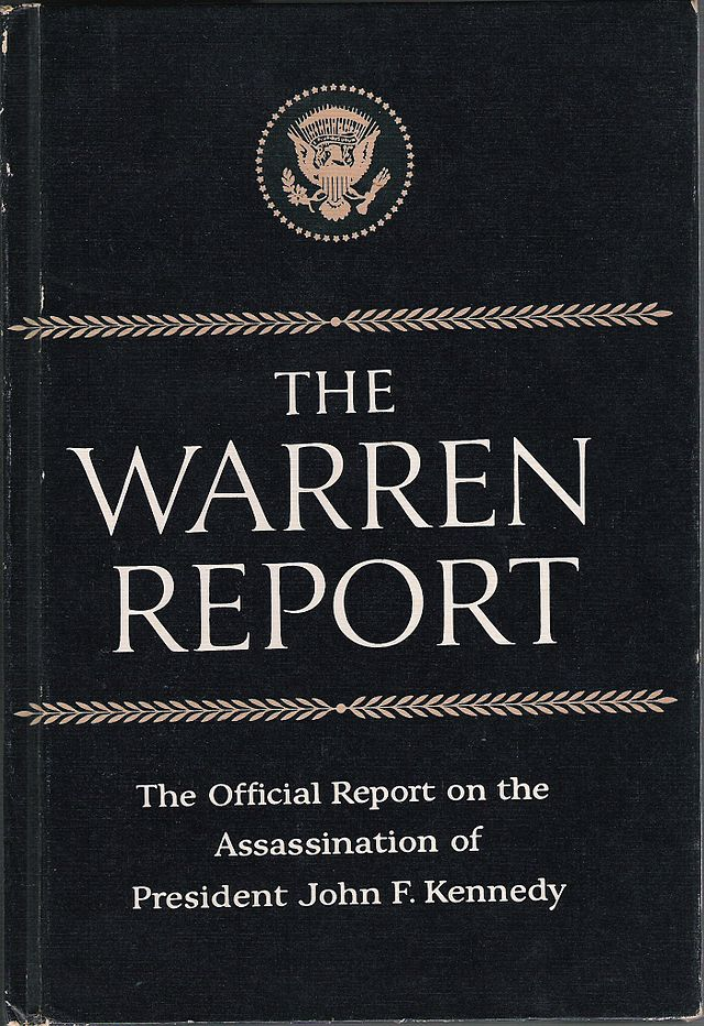 Warren Report cover